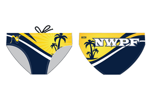 Newport Water Polo Foundation 2015 Custom Men's Water Polo Brief