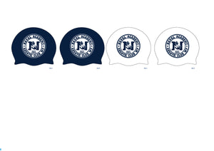 TWO - Naval Academy Aquatics Latex Caps