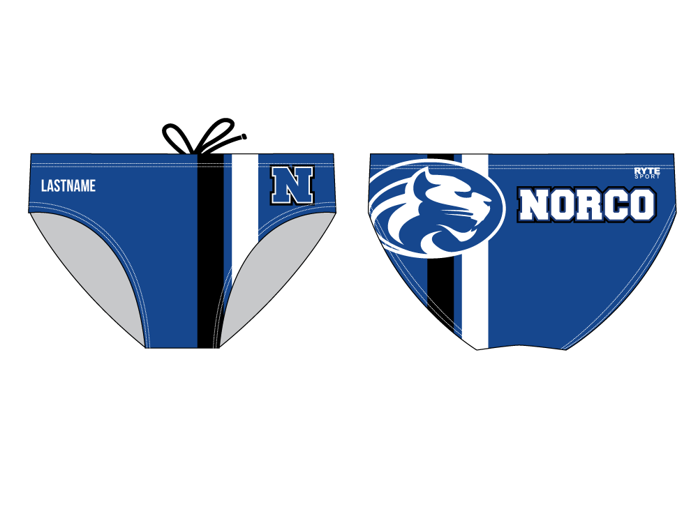 Norco High School Swim 2019 Custom Men's Swim Brief