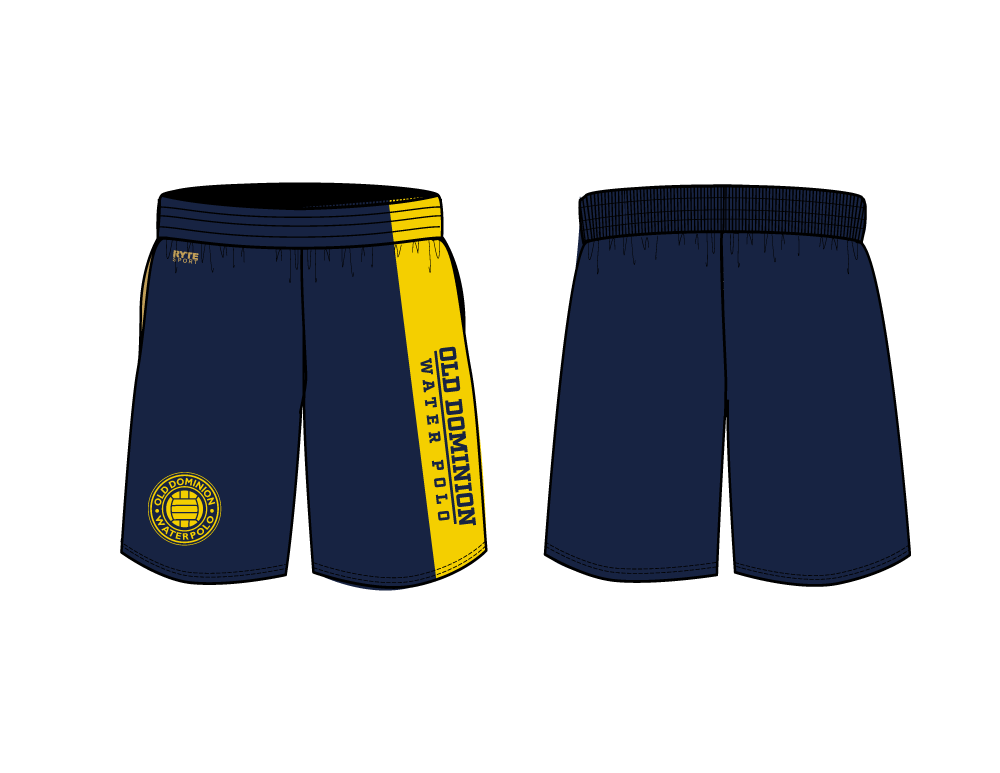 Old Dominion Water Polo 2019 Custom Men's Gym Short