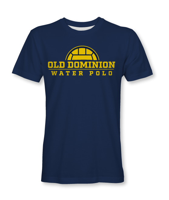 Old Dominion Water Polo 2019 Custom T-Shirt
