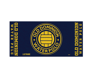 Old Dominion Water Polo 2019 Custom Towel - Personalized