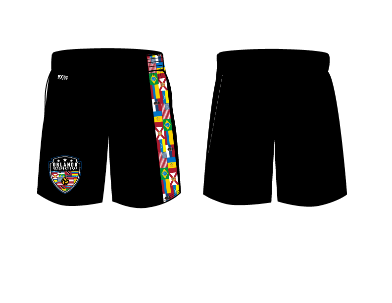 Orlando International Water Polo Club 2019 Custom Men's Gym Short