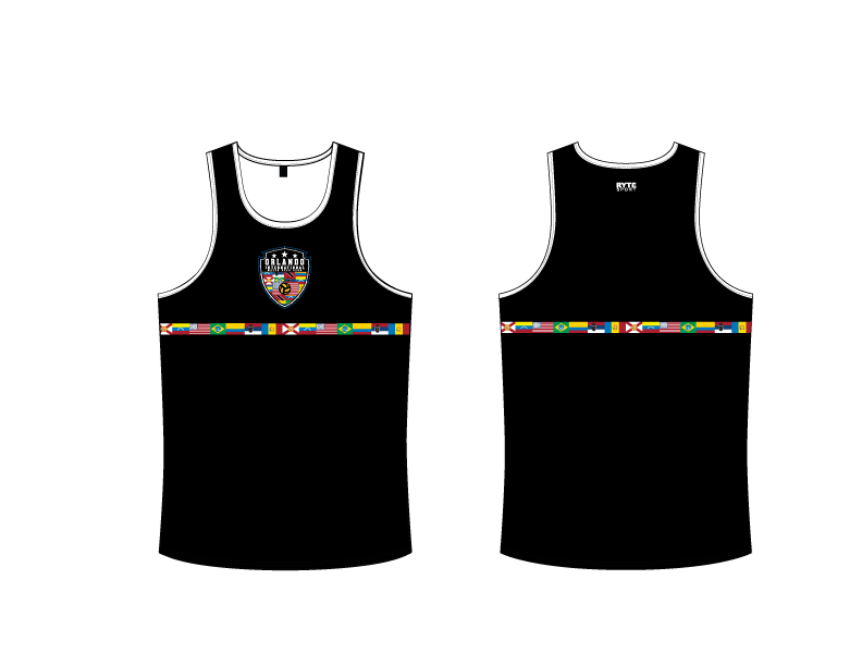 Orlando International Water Polo Club 2019 Custom Men's Tank Top