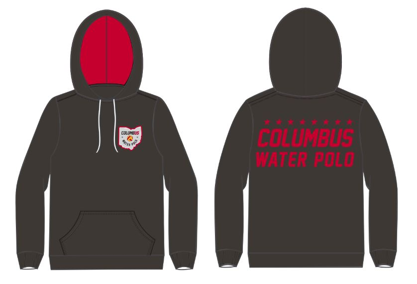 Columbus Water Polo 2018 Custom Unisex Hooded Sweatshirt