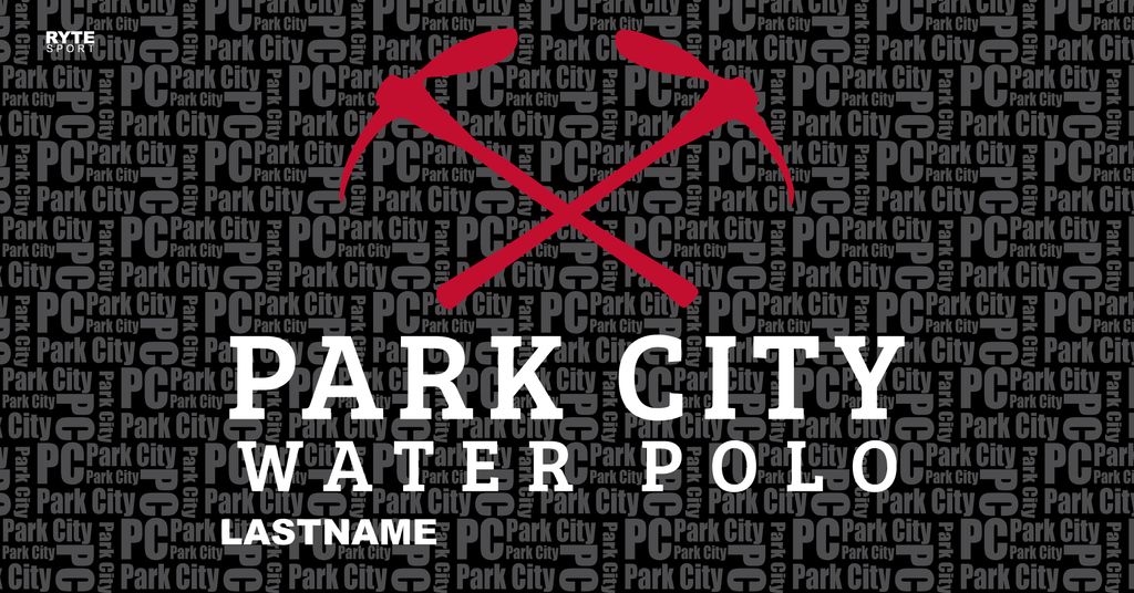 Park City Water Polo Club Custom Towel