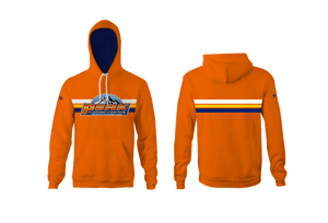 Peak Triathlon Coaching Custom Heathered Orange Unisex YOUTH Hooded Sweatshirt