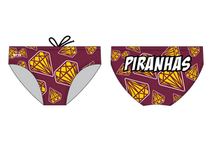 Piranhas Swim Team 2019 Custom Men's Swim Brief
