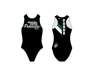 Ponderosa High School Water Polo Custom Women's Water Polo Suit