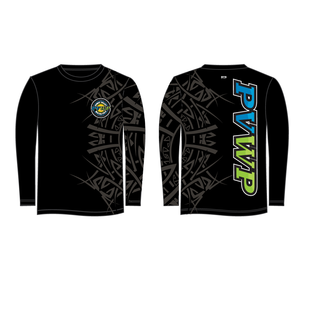 Poway Valley Water Polo Club Custom Long Sleeve Men's T-Shirt