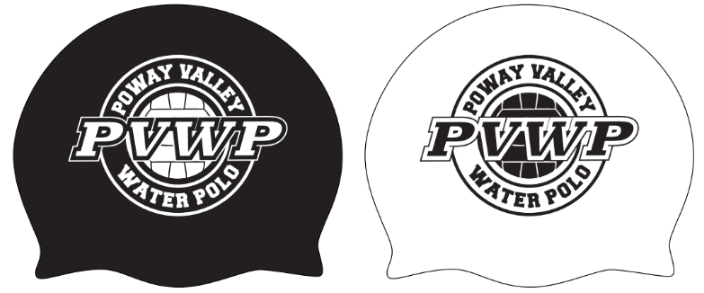 TWO - Poway Valley Water Polo Custom Latex Cap