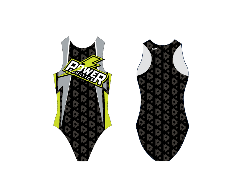 Power Aquatics 2019 Custom Women's Water Polo Suit