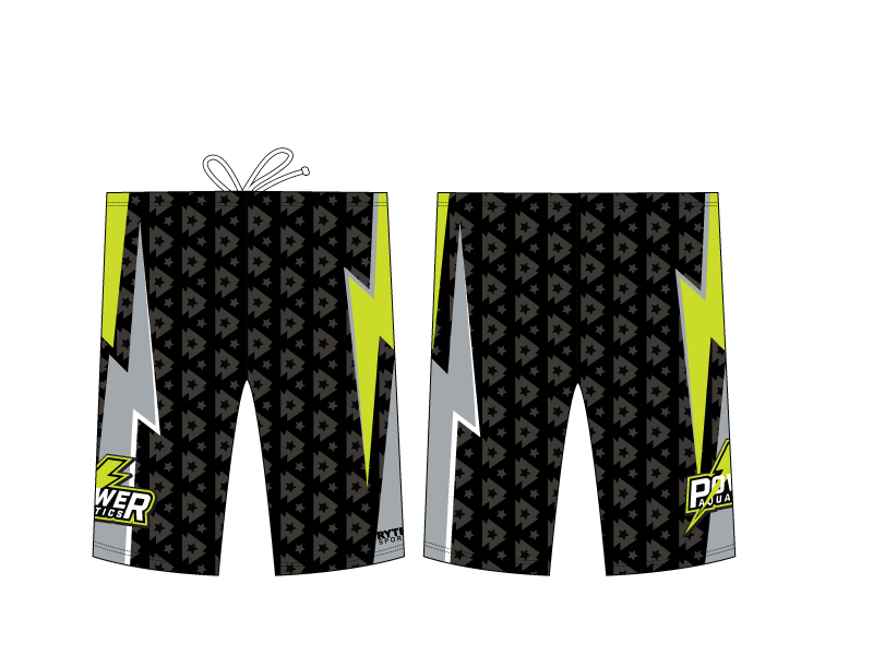 Power Aquatics Custom Men's Jammer