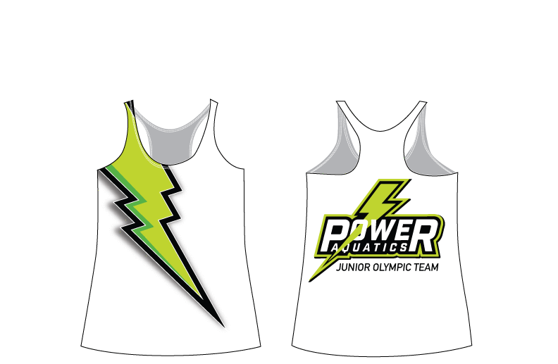 Power Aquatics 2018 Junior Olympics Racerback Tank Top