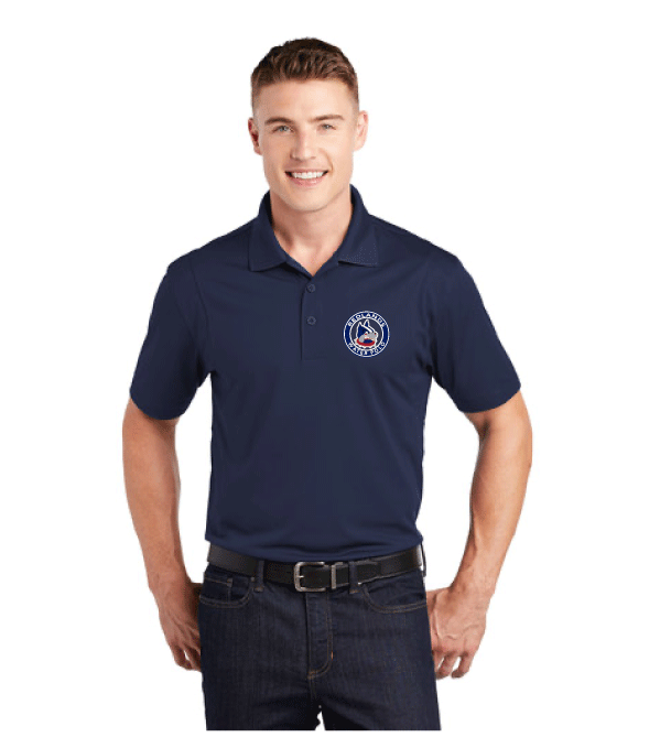 Redlands High School Water Polo 2019 Navy Men's Polo Shirt