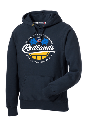 Redlands Girls Water Polo 19 Super Heavyweight Pullover Hooded Sweatshirt