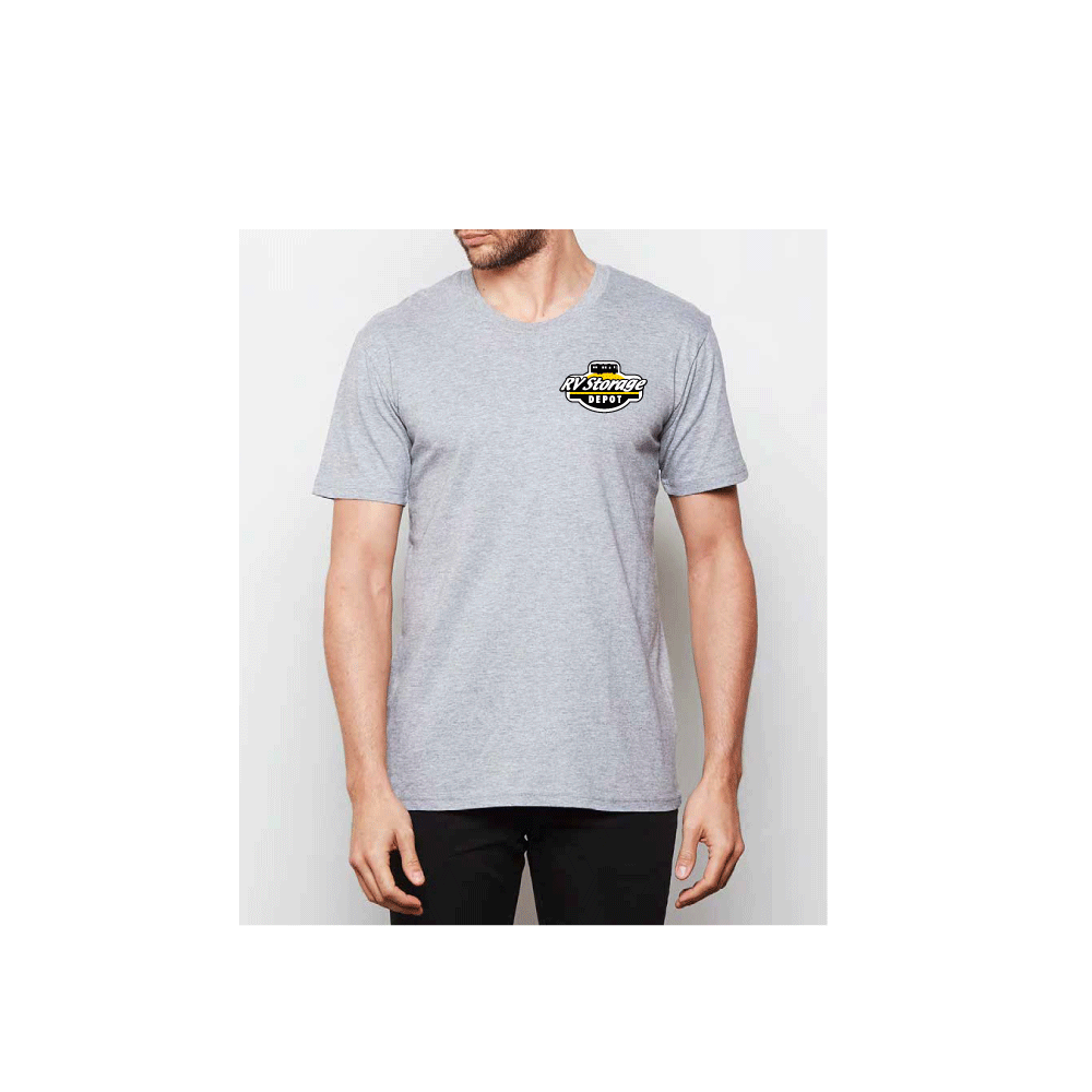 RV Storage Depot Men's Grey Heather T-Shirt