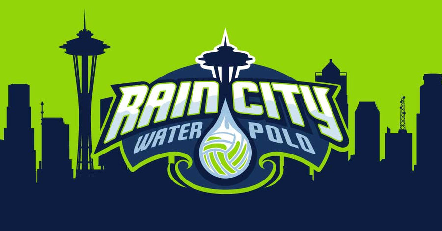 Rain City Water Polo Club Custom Towel