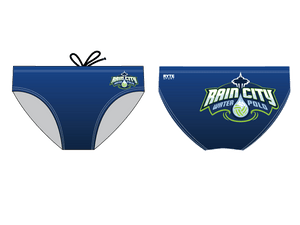 Rain City Water Polo Club Custom Men's Water Polo Brief