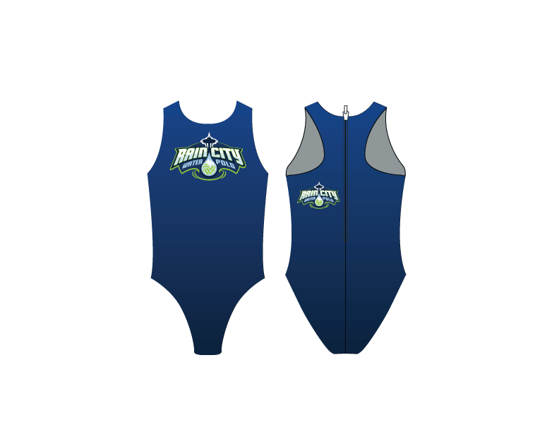 Rain City Water Polo Club Custom Women's Water Polo Suit