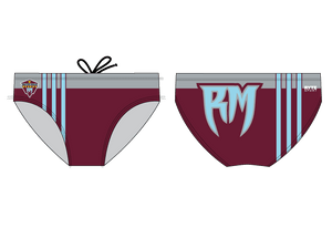 Rancho Mirage High School Swim 2021 Custom Men's Swim Brief - Personalized