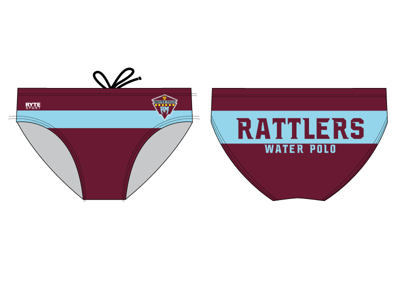 Rancho Mirage High School Water Polo 2020 Custom Men's Water Polo Brief