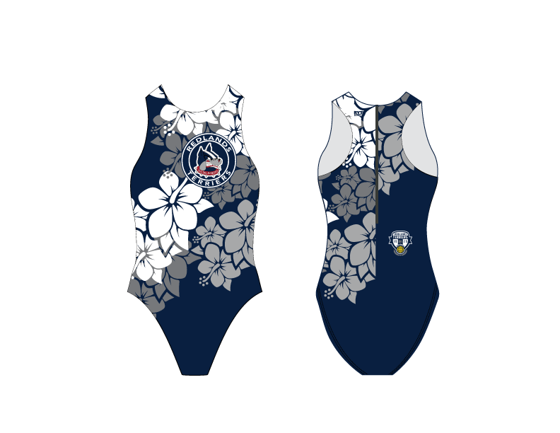 Redlands High School Custom Girls Water Polo Suit 2019