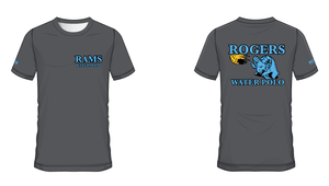 Rogers High School Water Polo 2019 Custom Men's Tech Tee *Size Up for Relaxed Fit*