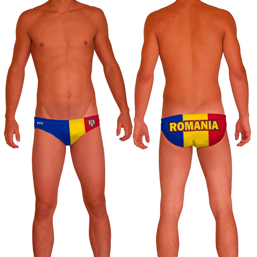 Romania Men's Swim & Water Polo Brief