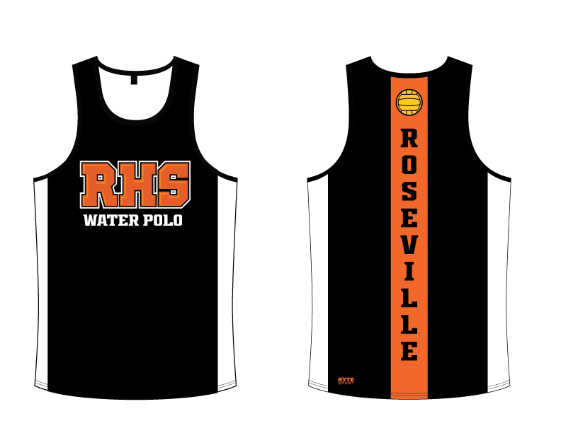 Roseville High School Boys Water Polo Custom Tank Top