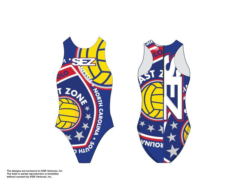 Southeast Zone Water Polo Custom Women's Water Polo Suit