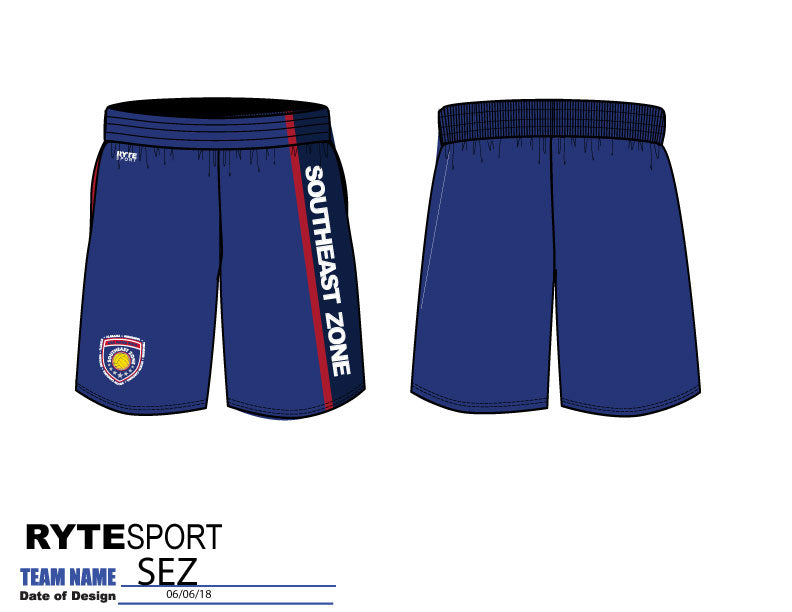 Southeast Zone Men's Gym Short