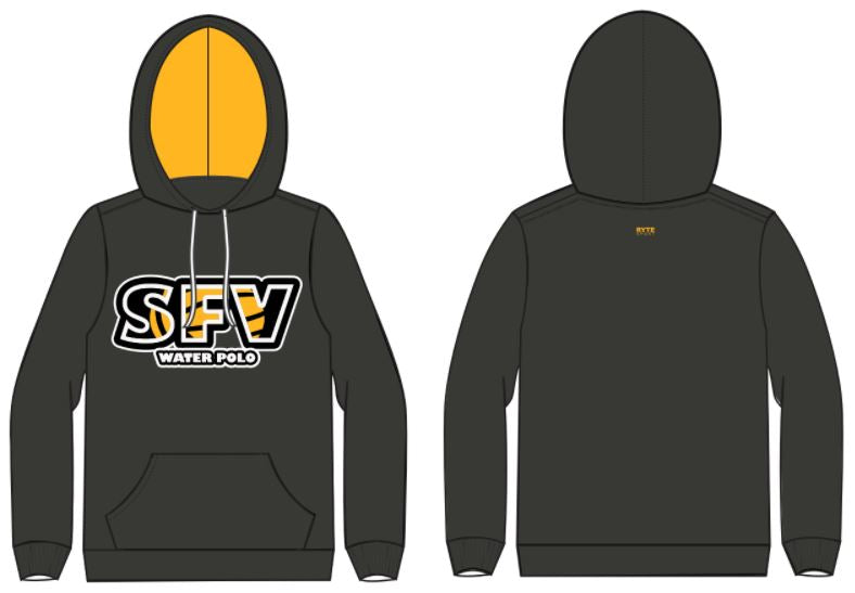 SFV Water Polo Club Custom Unisex Hooded Sweatshirt