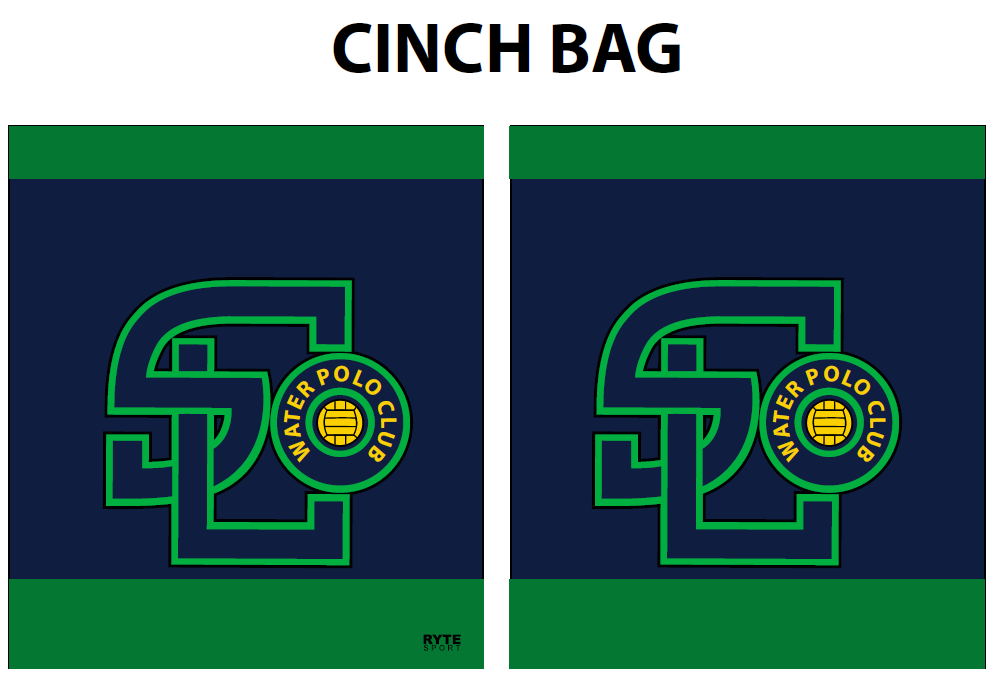 SLO Water Polo Club Cinch Bag