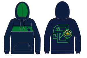 SLO Water Polo Club Custom Unisex Hooded Sweatshirt