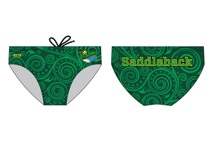 Saddleback High School 2019 Swim Team Custom Men's Swim Brief