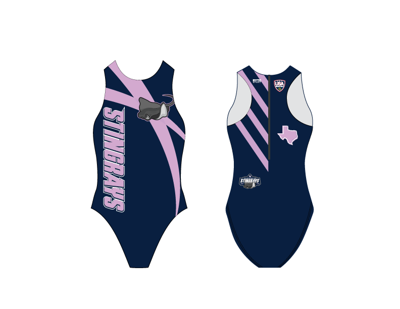 San Antonio Stingrays Women's Water Polo Suit - Personalized *MANDATORY*