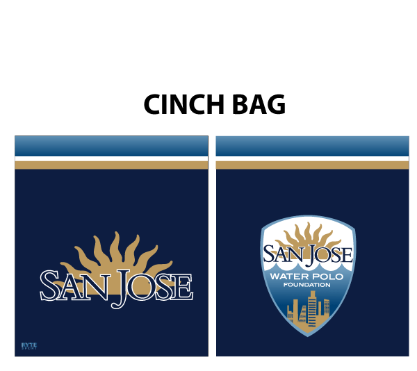 San Jose Water Polo Foundation CInch Bag