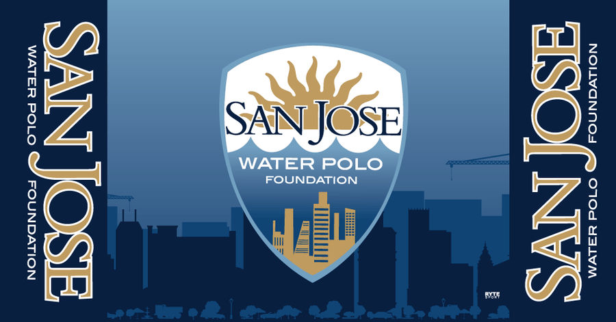 San Jose Water Polo Foundation Custom Towel
