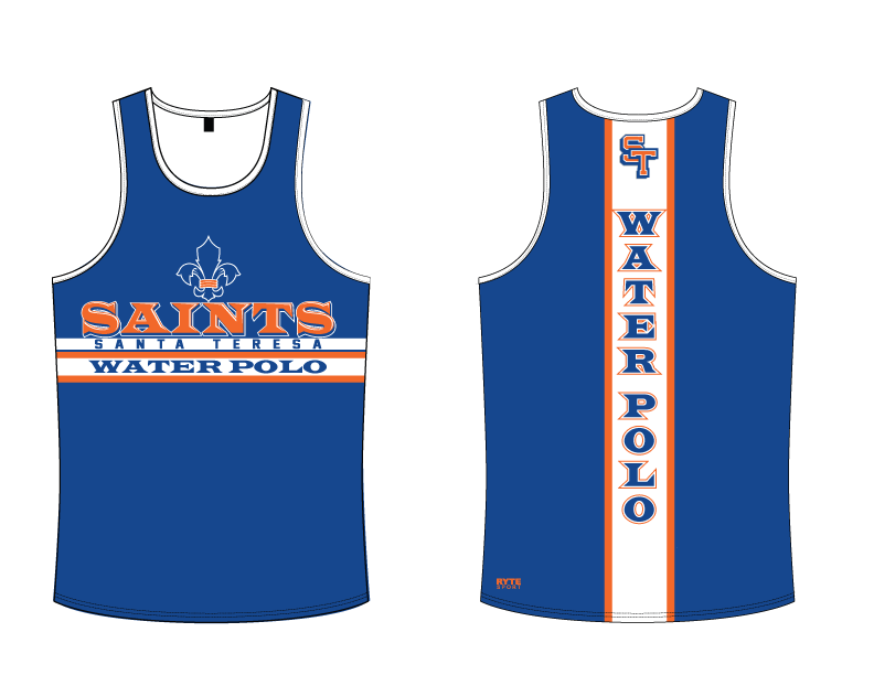 Santa Teresa High School Water Polo Custom Men's Tank Top