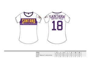 Santana High School Custom Women's T-Shirt