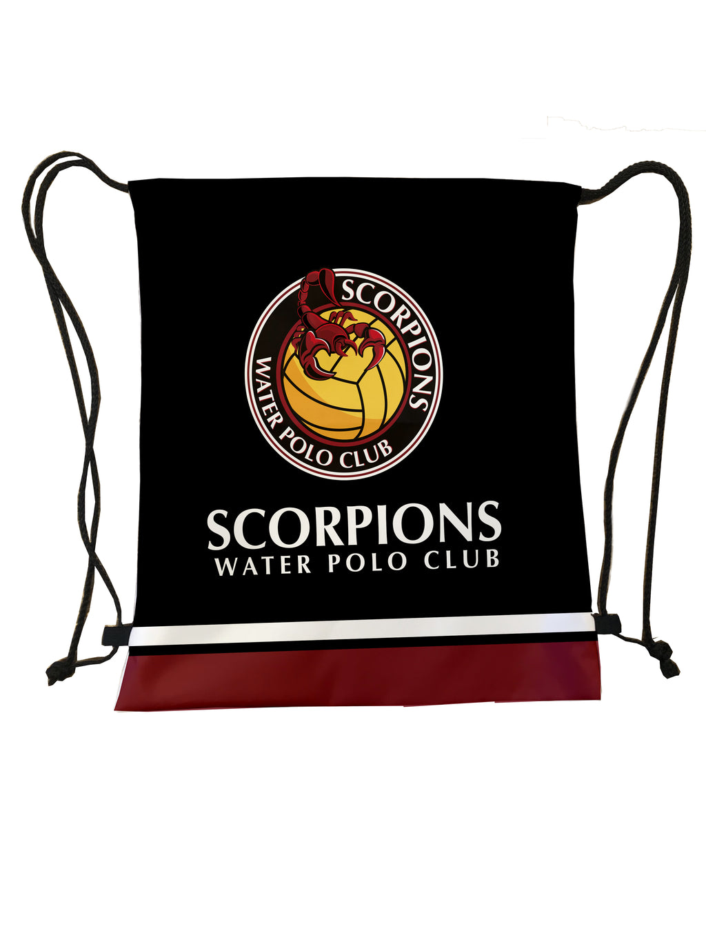 Scorpions Water Polo Club Custom Cinch Bag