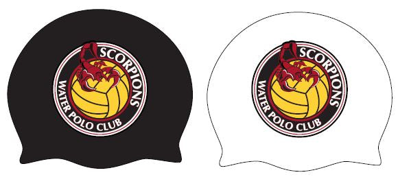 TWO - Scorpions Water Polo Club Latex Caps