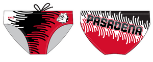 Pasadena High School Swim 2020 Custom Men's Swim Brief