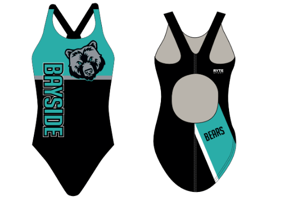Bayside High School Swim 2020 Custom Thick Strap Women's Swim Suit