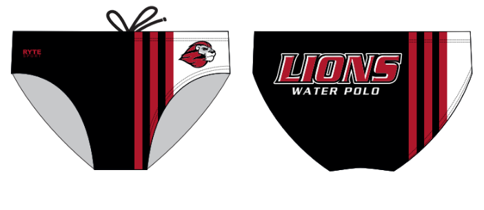 Westminster High School Water Polo 2020 Custom Water Polo Brief