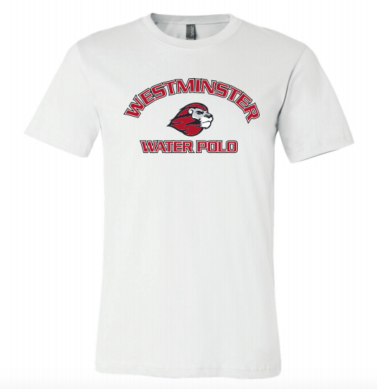 Westminster High School Water Polo 2020 Custom White Unisex Jersey Short Sleeve Tee