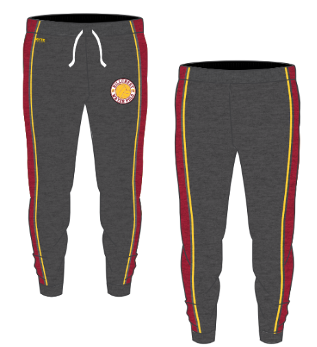Hillcrest High School Water Polo 2020 Custom Adult Unisex Heathered Jogger Sweatpants