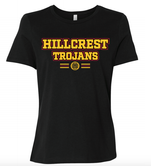 Hillcrest High School Water Polo Custom Women's Favorite Tee