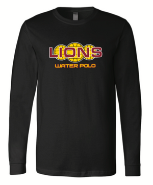 Arlington High School Water Polo 2020 Custom Black Unisex Jersey Long Sleeve Tee